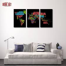 3 piece hot sell word map modern home wall decor canvas picture art hd print painting on 3 piece canvas wall art canada with 3 piece hot sell word map modern home wall decor canvas picture art
