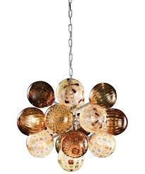 oggetti lighting. Magnifying Glass Image Shown In Chrome Finish And Amber (Golden Rod) Oggetti Lighting T