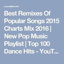 Best Remixes Of Popular Songs 2015 Charts Mix 2016 New Pop