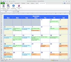 Free Excell Calendar 018 Free Excel Calendar Template With Events Of Templates
