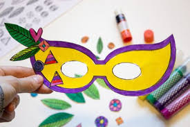 Printable Stencils For Kids Free Mardi Gras Mask Templates For Kids And Adults