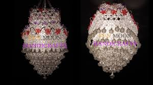 how to make beaded chandelier part 01 beaded lampshade diy beaded jhar bati
