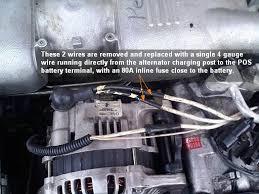 subaru wire alternator wiring subaru image fresh start alternator wiring upgrade configuration page 4 on subaru 2 wire alternator wiring