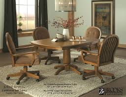 Kitchen Table With Swivel Chairs Kitchen Astounding
