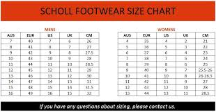 Hush Puppies Size Chart Width Dr Scholls Size Chart Brand House Direct