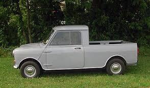 1974 British Leyland Mini Pickup Truck   Mini, Mini-Cooper, Mini ...