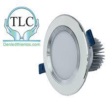 Đèn led downlight âm trần 9w 3 màu