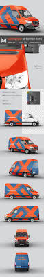 Show your brand in a professional way. Mercedes Sprinter 2019 Van Mockup By Mockupix Graphicriver