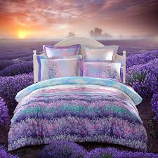 photo gallery of the purple green comforter sets
