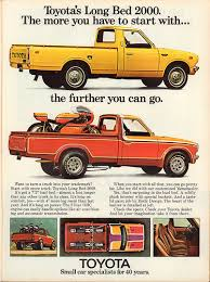 1974 Toyota Long Bed 2000 Pickup Truck Advertisement Motor…   Flickr