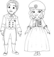 Small Picture Coloring Pages Top Disney Princess Sofia The First The Curse Of