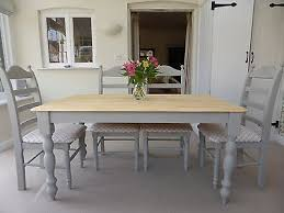 shabby chic table and chairs amazing dining room amusing kitchen tables inside 13
