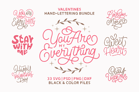Ian barnard belongs to uk, he loves to design logos and create various hand lettering masterpieces. Valentines Bundle Graphic By Momentos Crafter Creative Fabrica In 2020 Lettering Free Fonts For Cricut Find Quotes