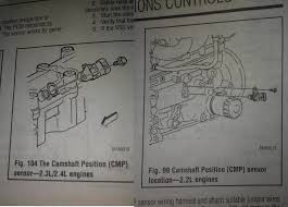 where is the camshaft positioning sensor located 2005 pontiac where is the camshaft positioning sensor located 2005 pontiac sunfire