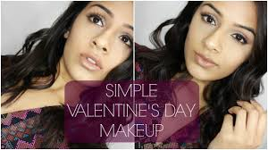 simple valentine s day makeup day night look date night indian brown skin