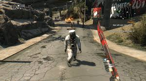 R Dying Light Heres The New Silver Hazmat Enemy Dyinglight