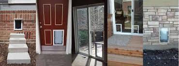 sliding glass patio dog doors in denver