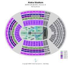 Aloha Stadium Seating Chart Concert Aloha Stadium Baseball Images