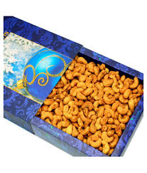 ghasitaram gifts mothers day regular cashew nut kaju gift box special masala kaju cashews 200 gms 200 gm
