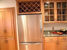 wine rack refrigerator above fridge cabinet c78 above