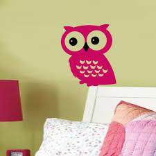 hooty owl vinyl wall decal
