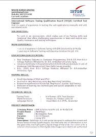 testing resume sample resume with web services experience resume sample  testing for years experience uat