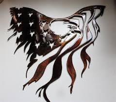 metal eagle wall art