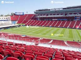 Usc Coliseum Seating Chart Los Angeles Memorial Coliseum Seating Chart Seatgeek