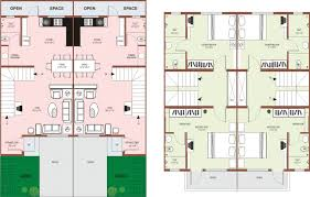 small row house plans india 15 plush design apartt home pattern lively houses plan