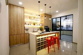 14 Wet And Dry Kitchen Design Ideas In Malaysian Homes Malaysia
