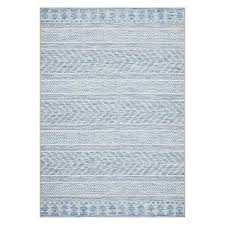 elien indoor outdoor rug blue