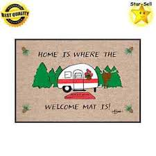 christmas door mats outdoor. Image Is Loading RV-Trailer-Door-Mat-Indoor-Outdoor-Rug-Cotton- Christmas Door Mats Outdoor F