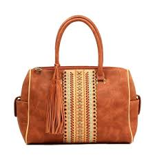 blazin ro womens studded fringe conceal carry purse