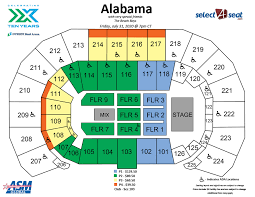 Southern Theater Seating Chart Seating Charts Events Tickets Intrust Bank Arena