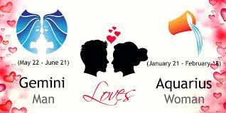 Gemini Man And Aquarius Woman Love Compatibility Ask Oracle
