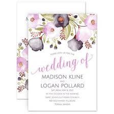 Wedding Invitations Watercolor Watercolor Wedding Invitations Invitations By Dawn