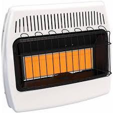 btu propane infrared vent free