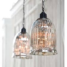 regina andrew design hanging antique mercury glass pendent