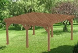 garden pergola building plans 20 x 20