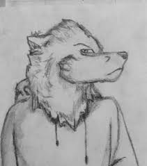 gray wolf face drawing. Contemporary Drawing Uploaded 2 Years Ago With Gray Wolf Face Drawing