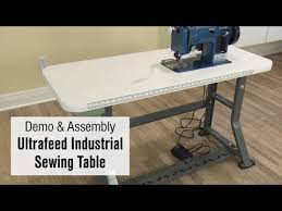 Industrial Sewing Machine With Table