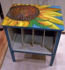 Coffee Table Painting Painted Wood Coffee Tables