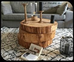 1 2 3 Rondins Font Une Table Basse Barbatruc Et R Cup