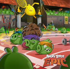 Angry Birds Epic a Twitter:
