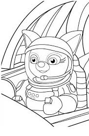 Small Picture Dotty in Special Agent Oso Rocket Coloring Page Download Print