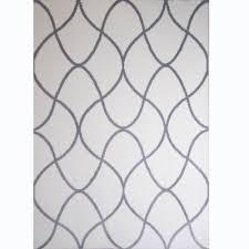 home dynamix ramapo ivory gray microfiber 5 ft x 7 ft indoor