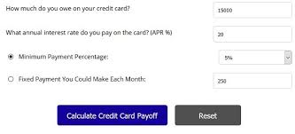 Calculator Credit Card Payment Credit Card Interest Calculator How Much Can You Save