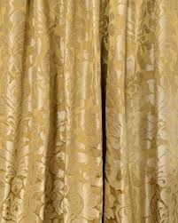 curtain fabric brown gold zoom image