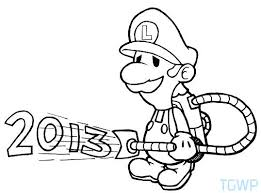 Luigi S Mansion Coloring Pages To Print Coloring Pages