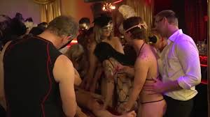 Swingers masquerade orgy party and lots of fun Shameless